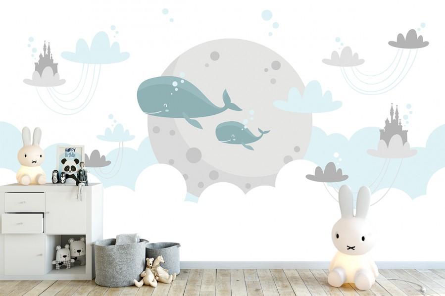 Fototapety Wielorybki
