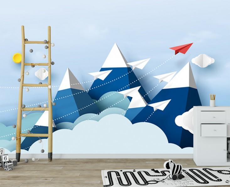 Fototapeta Góry 3D